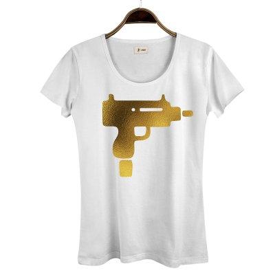 Gold Uzi Kadın T-Shirt