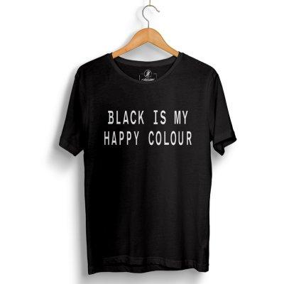 Happy Black T-Shirt