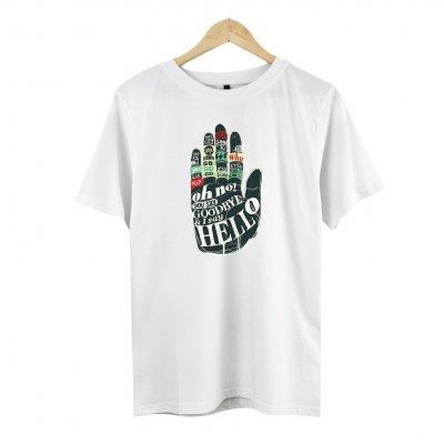 Hello Hand White T-Shirt