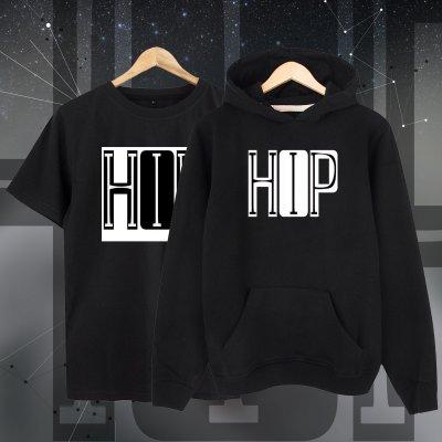 Hiphop Font Kapşonlu + T-Shirt Paketi