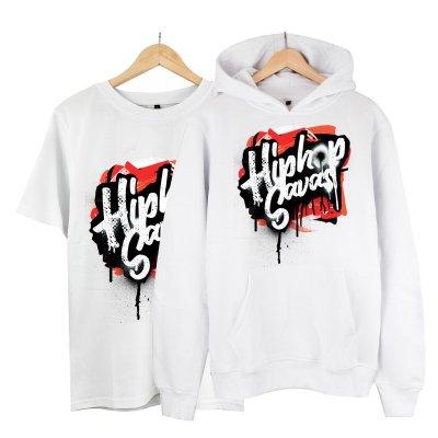 Hiphop Savaşı Kapşonlu Alana T-Shirt 19 TL (Paket)