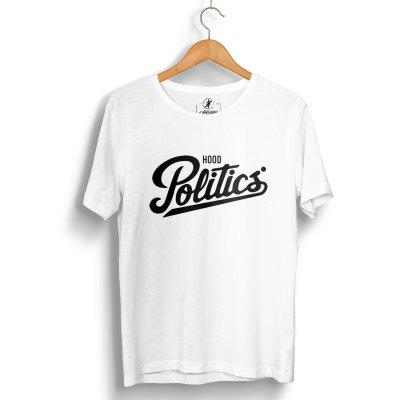 Hood Politics Beyaz T-Shirt