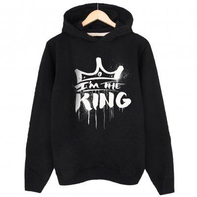 I am the King Kapşonlu Sweatshirt Hoodie