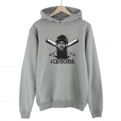 Ice Cube Hoodie Sweatshirt - Gri