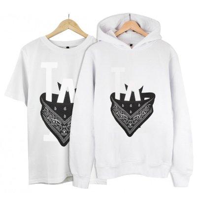LA  Kapşonlu Alana T-Shirt 19 TL (Paket)