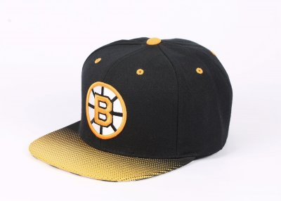 Mitchell And Ness Boston Bruins Sarı Ve Siyah Snapback Cap Şapka