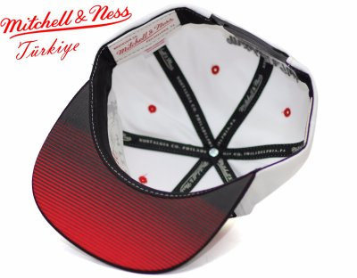 Mitchell And Ness Chicago Bulls Beyaz Snapback Cap Şapka