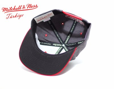 Mitchell And Ness Chicago Bulls Gri Snapback Cap Şapka