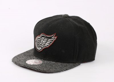 Mitchell And Ness Detroit Red Wings Siyah Snapback Cap Şapka