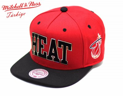 Mitchell And Ness Heat Kırmızı Metal Detaylı Snapback Cap Şapka