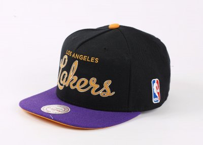 Mitchell And Ness Los Angeles Lakers Snapback Cap Şapka 2