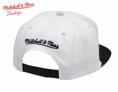 Mitchell And Ness Nets Beyaz Snapback Cap Şapka 2