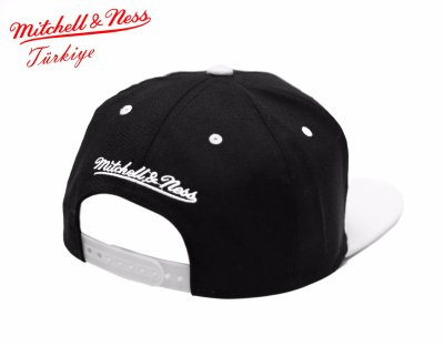 Mitchell And Ness Nets Siyah Beyaz Snapback Cap Şapka