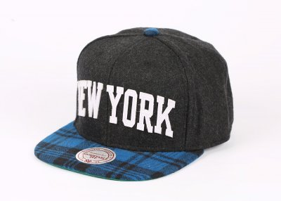 Mitchell And Ness New York Mavi Çizgili Snapback Cap