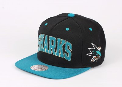 Mitchell And Ness Sharks Turkuaz Snapback Cap Şapka
