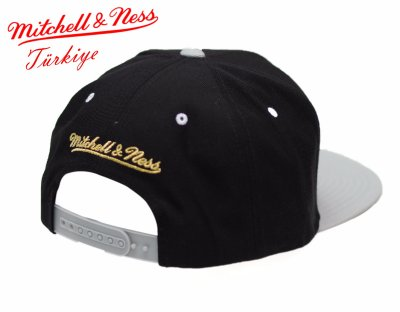 Mitchell And Ness Spurs Gri Ve Siyah Snapback Cap Şapka