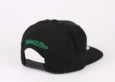 Mitchell & Ness Boston Celtics Siyah Snapback Cap Şapka 1