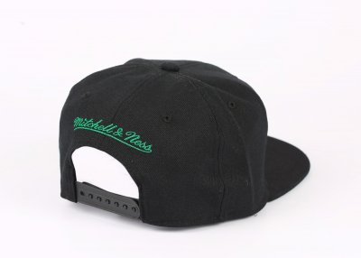 Mitchell And Ness Boston Celtics Siyah Snapback Cap Şapka