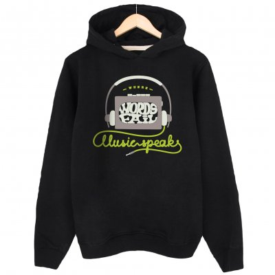 Music Speak Kapşonlu Sweatshirt Hoodie