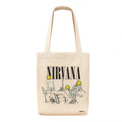 Nirvana Kurt Cobain Tote Bag Bez Çanta