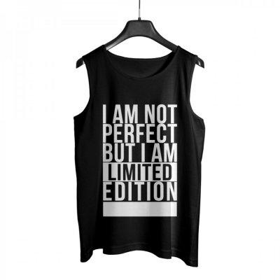 Not Perfect Atlet (Siyah)