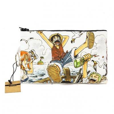 One Piece Bez Cüzdan Clutch El Çantası - B092-037b