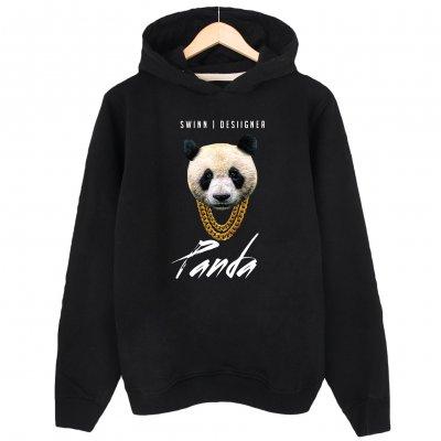 Panda Desiigner Kapşonlu Sweatshirt