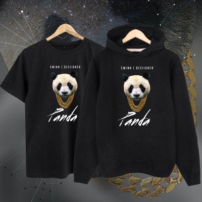 Panda Designer Kapşonlu + T-Shirt Paketi