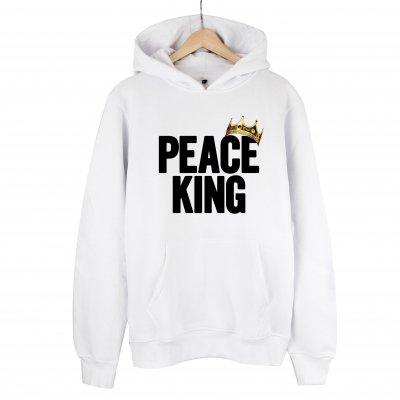 Peace King Kapşonlu Sweatshirt Hoodie