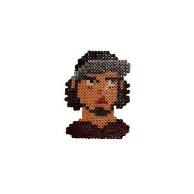 Pixel Art Ezhel Anahtarlık