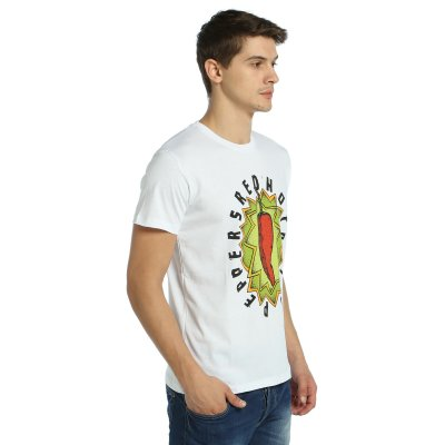 Red Hot Chili Peppers Beyaz Erkek T-Shirt