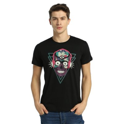 Root and Stone - Stereo Skull Erkek T-Shirt