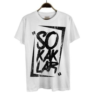 Sokaklar Beyaz T-Shirt