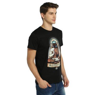 Star Wars - Buddha Fett T-Shirt (Siyah)