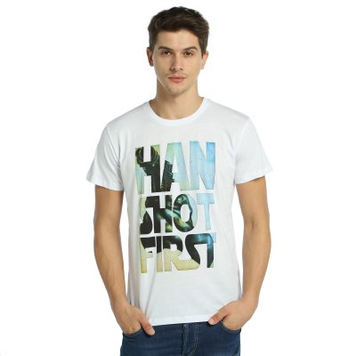 Star Wars Han Solo Beyaz T-Shirt