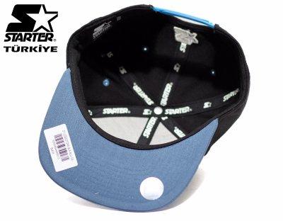 Starter Snapback Cap Şapka - Mavi Siyah