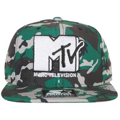 Starter Snapback Cap Şapka - MTV Kamuflaj