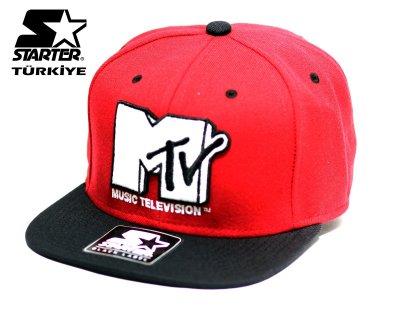 Starter Snapback Cap Şapka - MTV Red