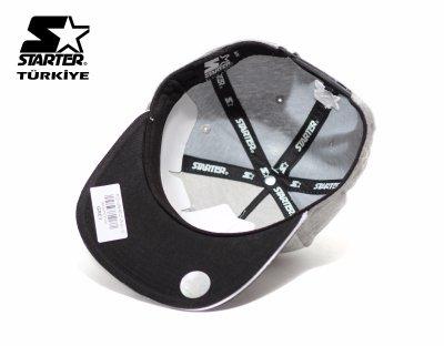 Starter Snapback Cap Şapka - Starter Gri