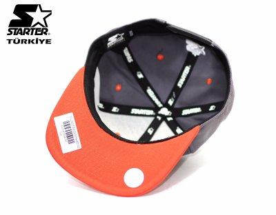 Starter Snapback Cap Şapka - Turuncu Gri