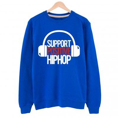 Support Positive Basic Sweatshirt