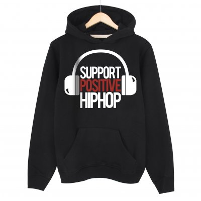 Support Positive Kapşonlu Sweatshirt Hoddie