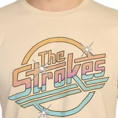 The Strokes Füme Erkek T-Shirt