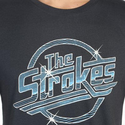 The Strokes Retro Krem Erkek T-Shirt