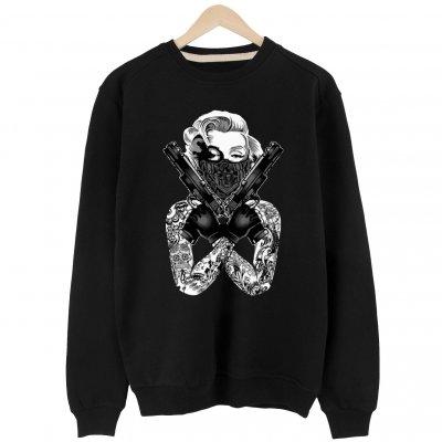 Thug Marilyn Basic Sweatshirt