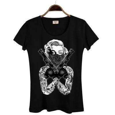 Thug Marilyn Kadın T-Shirt