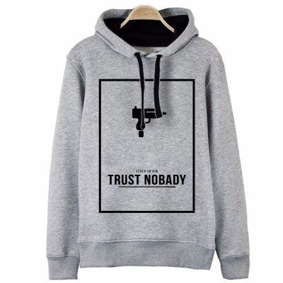 Trust Nobady Kapşonlu Hoodie Sweatshirt