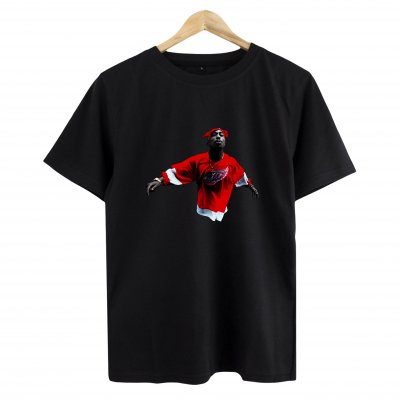 Tupac Red Style T-Shirt