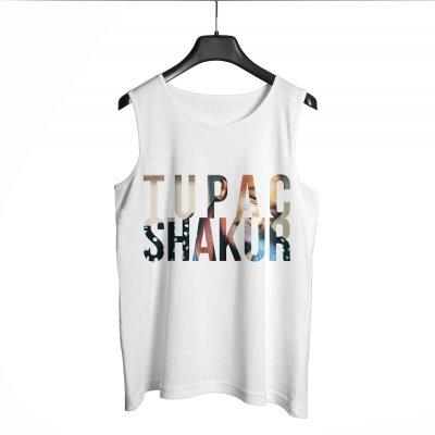 Tupac Shakur Beyaz Atlet