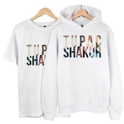 Tupac Shakur Kapşonlu + T-Shirt Paketi